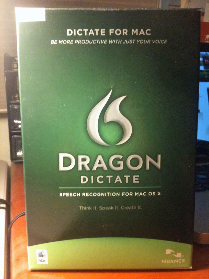 Dragon-Dictate